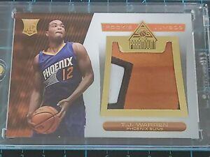 T.J. Warren /25 RC Patch 2014-15 Panini - Paramount Basketball trading card