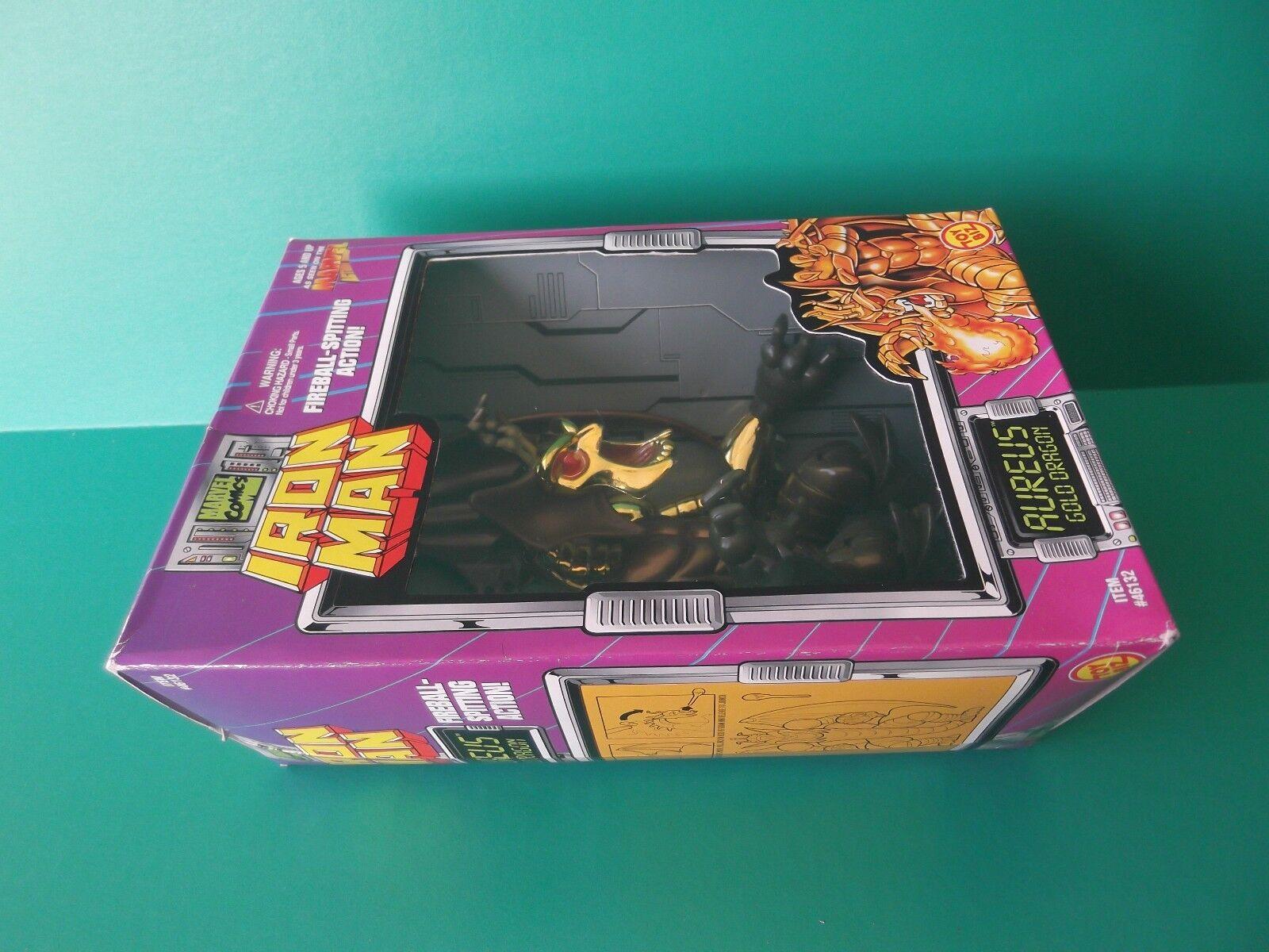 AUREUS gold DRAGON IRON IRON IRON MAN MARVEL COMICS TOY BIZ 7.5 IN ACTION FIGURE 1995 82dd96