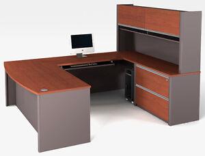 Image Is Loading Bestar Connexion U Shape Office Desk W Oversized