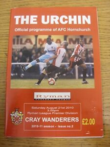 21082010 AFC Hornchurch v Cray Wanderers  slight creased Thanks for viewing - Birmingham, United Kingdom - 21082010 AFC Hornchurch v Cray Wanderers  slight creased Thanks for viewing - Birmingham, United Kingdom