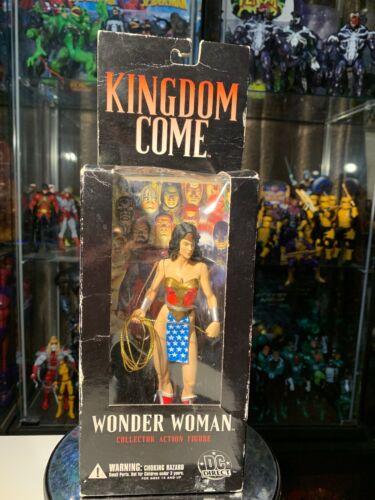2006 DC Direct Kingdom Come WONDER WOMAN Alex Ross Action Figure Pre-Owned