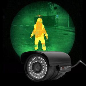 1200TVL HD 6mm Lens IR Night Vision Outdoor Home CCTV Surveillance Cam IR-CUT OU