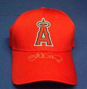Joe Saunders signed Anaheim Angels Baseball Hat PSA/DNA # J45777