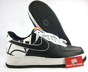 pretty nice 1c2f3 548ce Image is loading NEW-Men-NIKE-AIR-FORCE-1-LV8-Black-