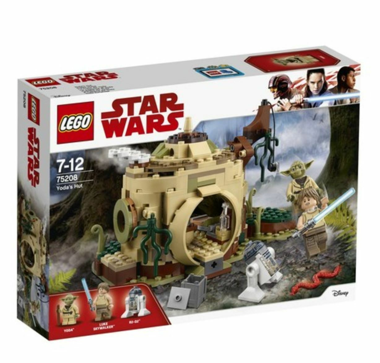 STARWARS Yoda's Hut 75208 2018 Version Free Shipping