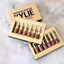 New 6pcs/Lot Gold Lip Gloss Makeup Long Lasting Waterproof Matte Lipstick Liquid