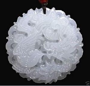 natural-hand-carved-Chinese-jade-pendant-dragon-Phoenix-Natural