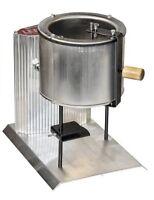 Electric Lead Melting Pot Metal Melter Furnace Casting Molds 20 Pound Spout
