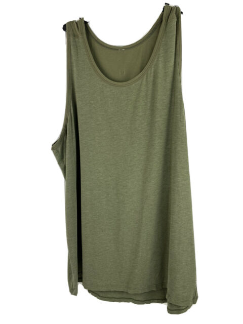 Lululemon Tank Top Men's XXL Green Sleeveless Athletic Shirt