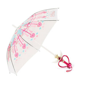 Sailor Moon Tri Color Discoloration Kaleidoscope LED Light Transparent Umbrella
