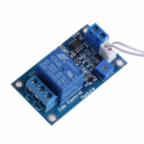 12V Photoresistor Sensor Module Car Light Automatic Control Switch w//Cable BBC