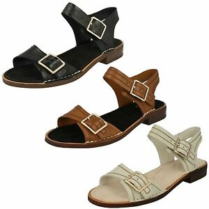 5c1ac1c3dbb7 Image is loading SALE-LADIES-CLARKS-LEATHER-BUCKLE-SLINGBACK-CASUAL-DRESS-