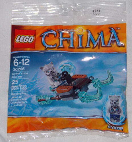 30266 Sykor/'s Ice Cruiser LEGO THE LEGEND OF CHIMA Poly Bag