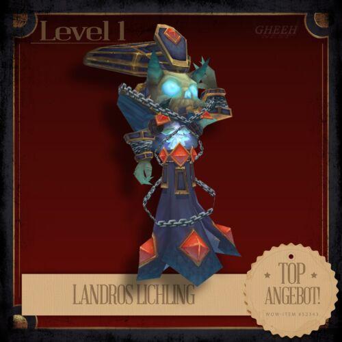 » Landros LichlingLandro's LichlingWorld of WarcraftTCGHaustier «