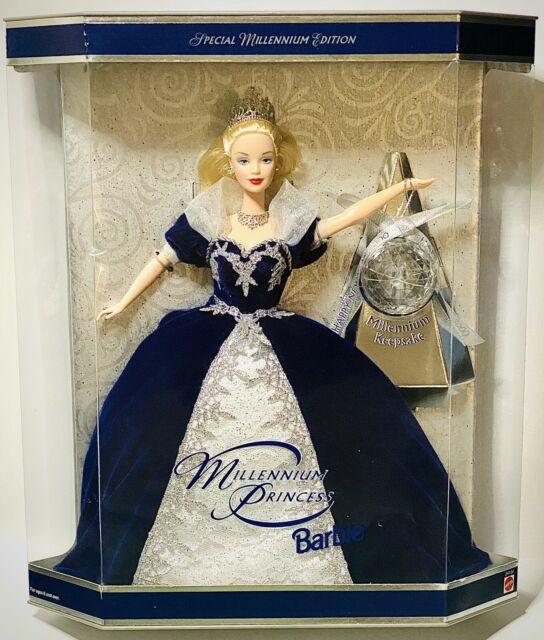 Millennium Princess 2000 Barbie Doll Special Edition with Millenium Keepsake NIB