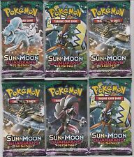 Pokemon TCG Sun and Moon Guardians Rising 6 Booster pack lot Authentic Unweighed