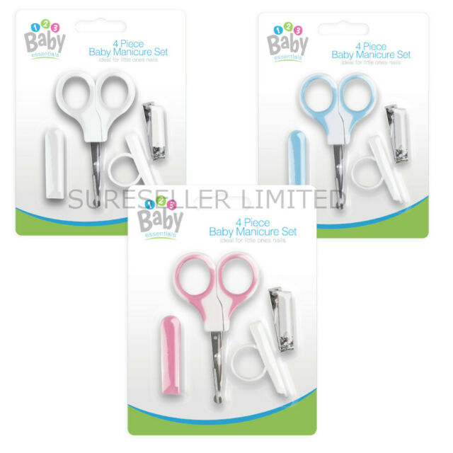 Baby Manicure Nail Four Piece Set Pink
