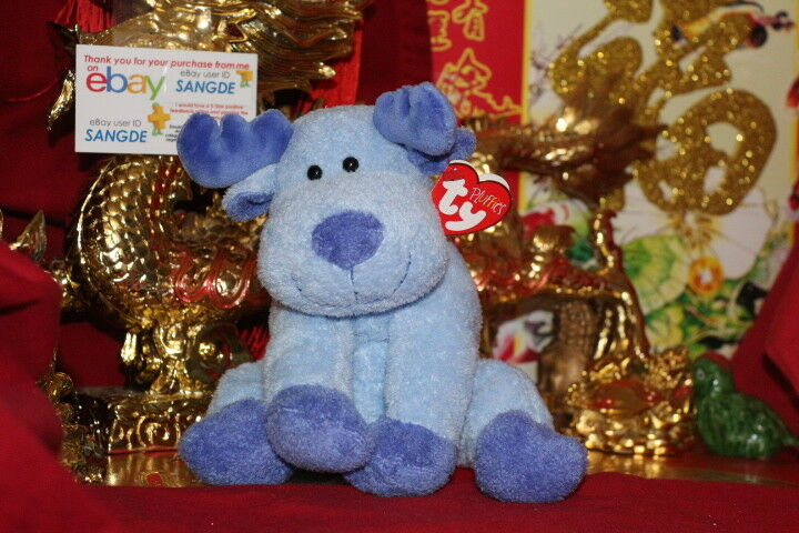 TY PLUFFIES BLOOSE THE MOOSE-8 -2006 RELEASE-RETIRED-MWNMT-NICE GIFT