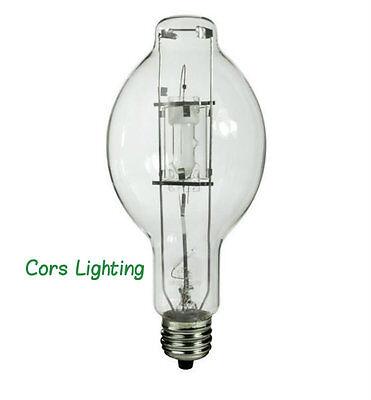 1000 Watt Standard Metal Halide Light Lamp Bulb 4200K Plusrite 1029