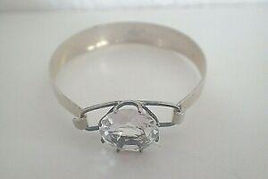 Grosse-Silber-Armspange-Armreif-835-mit-Grossen-Bergkristall