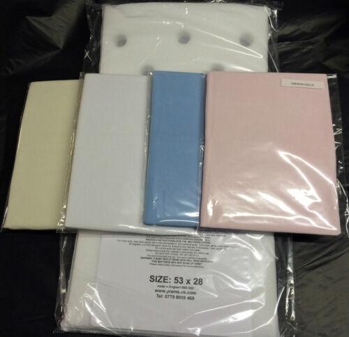 Mattress Fitted Sheet for Silver Cross Dolls Coach Built Pram Chatsworth Bedding