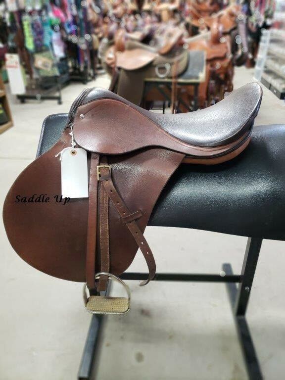 18  EXCALIBUR ENGLISH SADDLE 3-1464-2