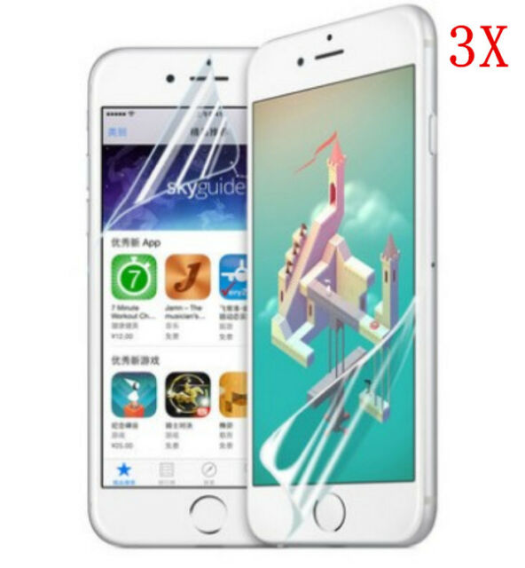"""Newest 3PCS ULTRA CLEAR LCD Screen Protector Guard for Apple iPhone 6 4.7"""""""