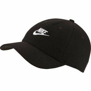 Detalles de Nike Sportswear Heritage 86 Gorra Negro Hombre