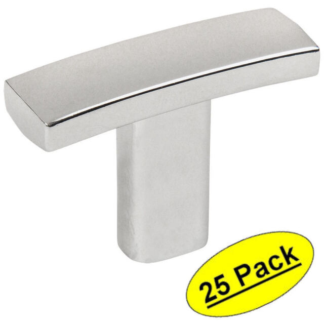 *25 Pack* Cosmas Cabinet Hardware Polished Chrome Cup Pulls #4310CH