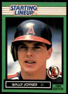 1989 Starting Lineup Wally Joyner #WAJO