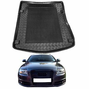 Audi-A6-C6-saloon-2004-2011-LDPE-boot-tray-rubber-boot-lip-protector