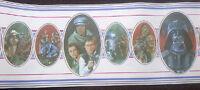 "STAR WARS ""RETURN OF THE JEDI"" PARTIAL WALLPAPER ROLL (Unused) 1983 VF"
