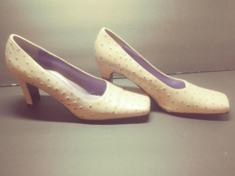 Damenschuhe CoCo SHUGUN Miami Heels Dress Pumps Schuhes Schuhes Schuhes Leder OSTRICH 10 Soft ORCHID c42940