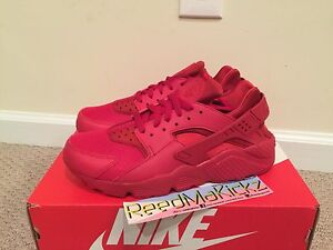 9a7d06790b088 Nike Air Huarache run Varsity red Triple Red October Mens sizes ...