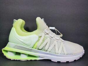 Sample-Nike-Shox-Gravity-Womens-Size-7-Running-Shoes-White-Light-Green