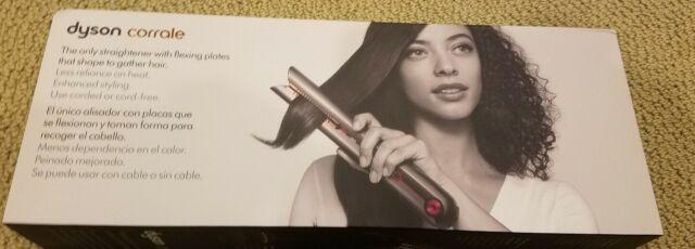 Brand New Dyson Corrale Hair Straightener - Black Nickel/Fuchsia