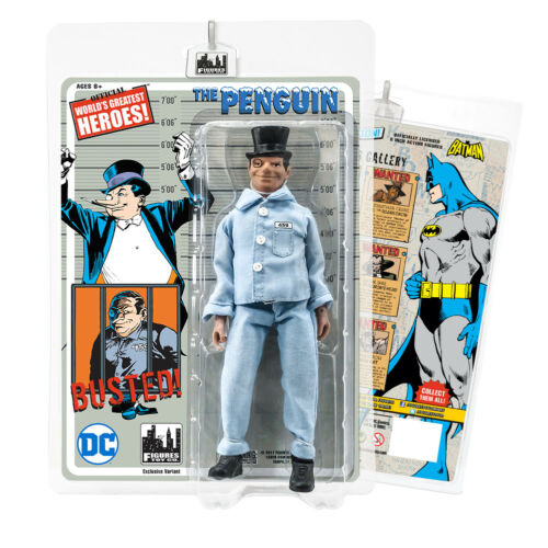 Prison Variant Batman Retro Action Figures Series The Penguin
