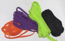 "¼/""  Braid Gimp Trim favors decor SEWING craft ribbon bolt silver light blue 1//4/"""
