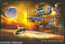ST. KITTS 2014 MARS EXPLORATION  SHEET MINT NH