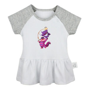 Alice-In-Wonderland-Cheshire-Cat-Gengar-Newborn-Baby-Girls-Dress-Infant-Clothes