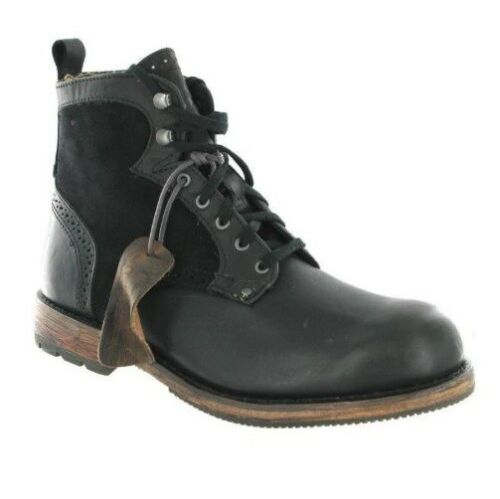 MENS CATERPILLAR GERALD LEATHER ANKLE BOOTS CASUAL WALKING WORK SHOES SIZE UK
