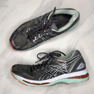 ASICS-Gel-Nimbus-19-Running-Shoe-Gray-Sneakers-Tennis-Shoes-Women-039-s-Size-9-5
