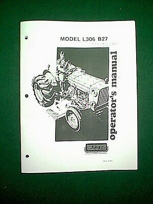 WOODS MOWER DECK L306 B27 FOR BOLENS ISEKI TRACTORS 272 274 2702 2704 MANUAL EBay