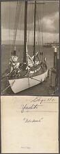 Vintage Press Photo Yacht Ship Saling Boat 261845