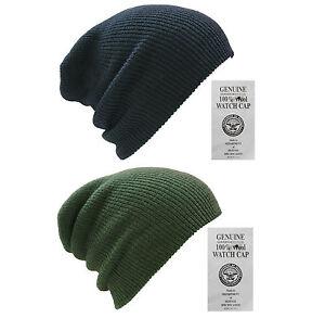 b39371f2096c13 GENUINE NEW 100% WOOL HAT US ARMY WATCH CAP OUTDOOR ARMY HEADWEAR ...