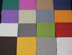 Tessuto-Cotone-Jeansato-TINTA-UNITA-Vari-Colori-50-x-2-80