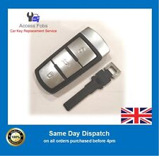 New Volkswagen VW Passat B6 CC Key Fob Smart Key Remote With Uncut Key