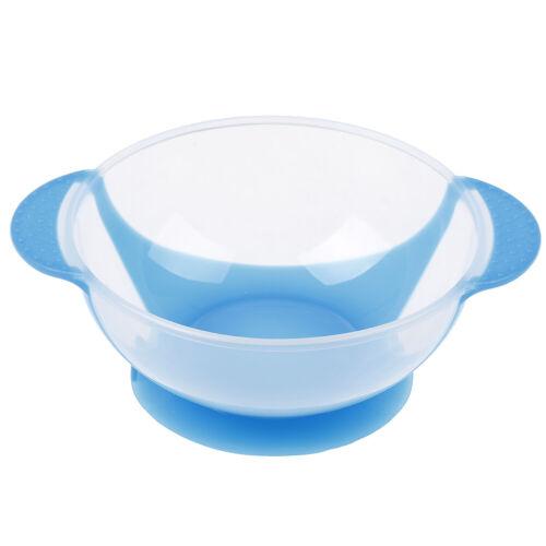 1X Baby cutlery kids children non^slip suction bowl sucker bowl feeding VT