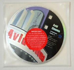 Avid-Cinema-for-Apple-Macintosh-ver-1-2-Sealed-CD-ROM-Vtg-Computer-Software