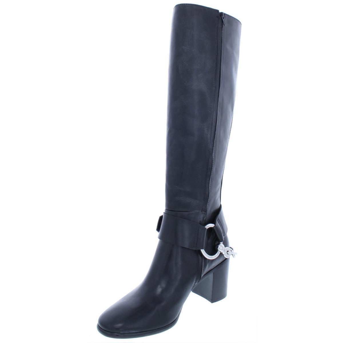 Frye Cuero Negro De Mujer Zapatos botas De Montar Julia Julia Julia 8.5 Medio (B, M) BHFO 3631  excelentes precios